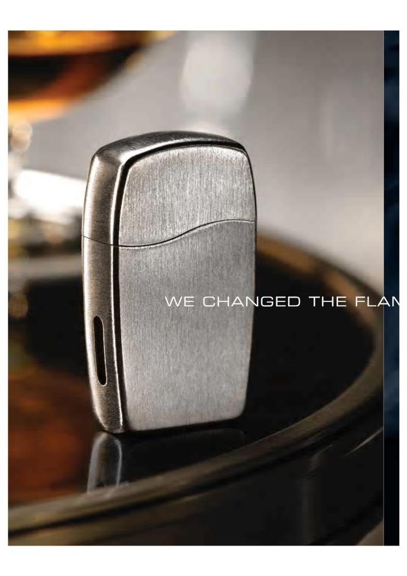 2007 ZippoBLU Butane Gas Lighter Catalog 418