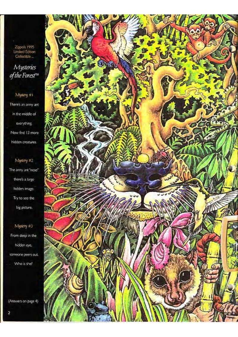 Catalogue ZIPPO Collection 1995 (version américaine) 419