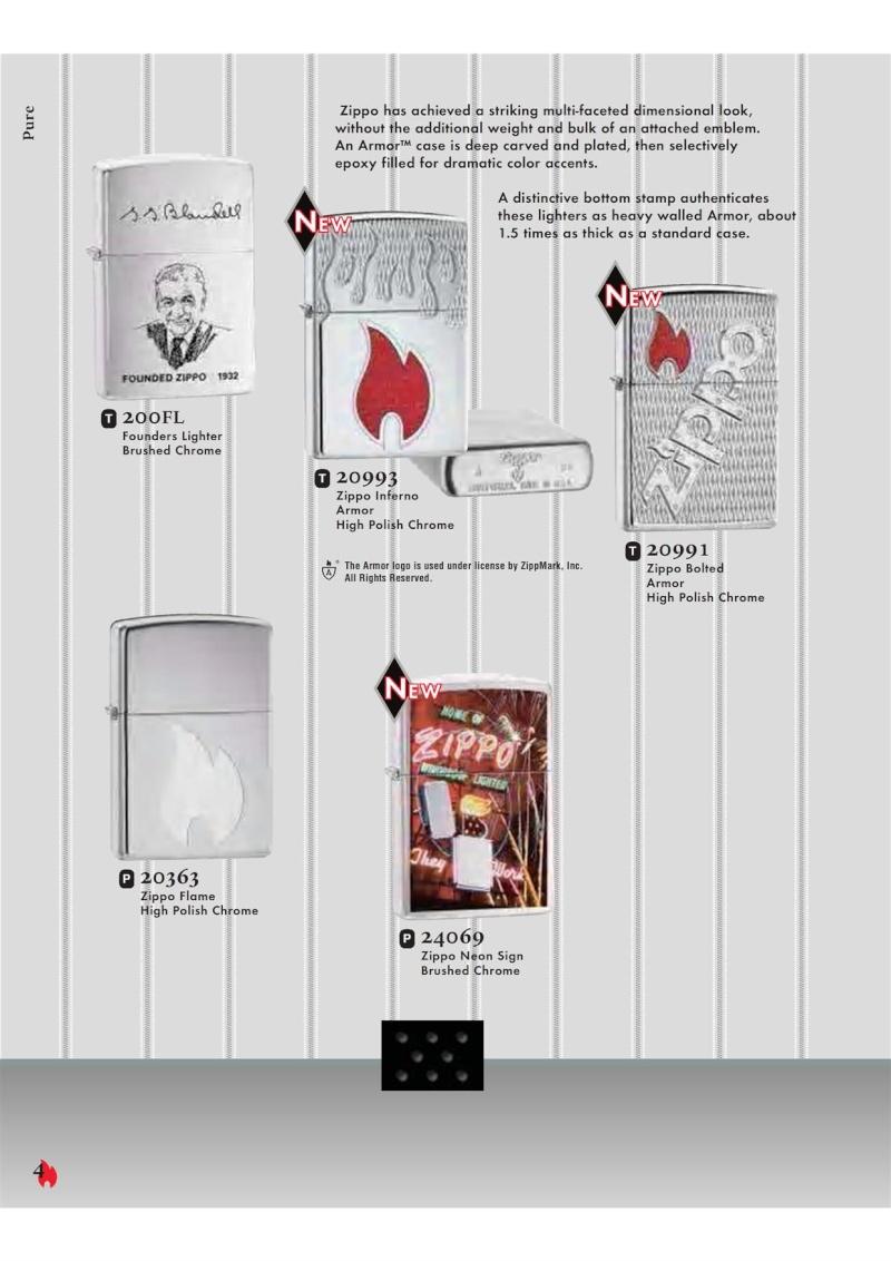 Catalogue ZIPPO 2007 Complete line (version américaine) 421