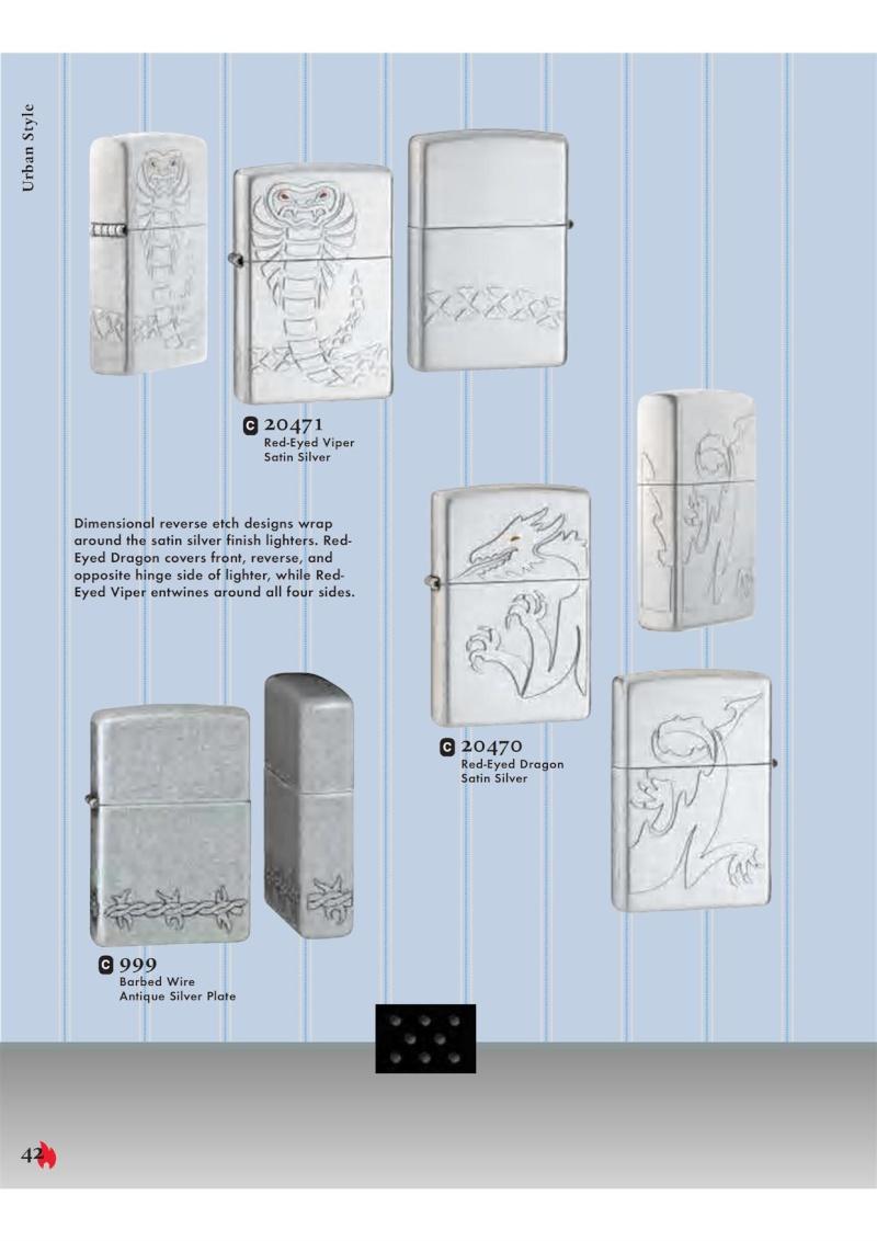 Catalogue ZIPPO 2007 Complete line (version américaine) 4211