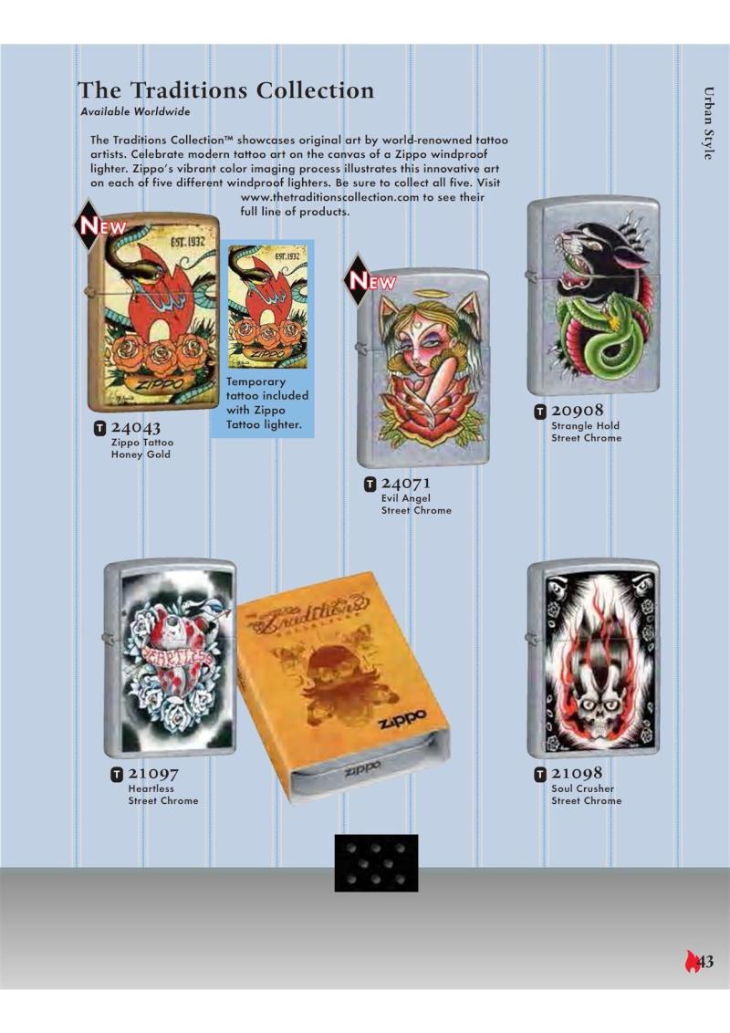 Catalogue ZIPPO 2007 Complete line (version américaine) 4311