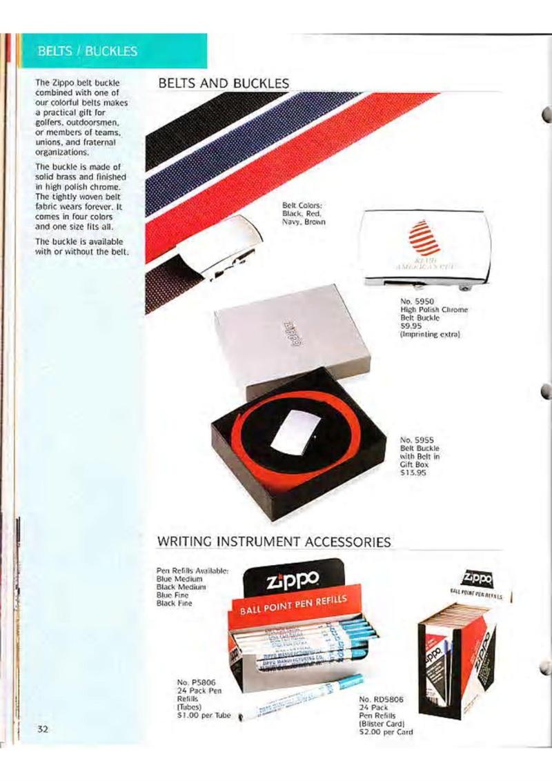 Catalogue ZIPPO Collection 1995 (version américaine) 4510