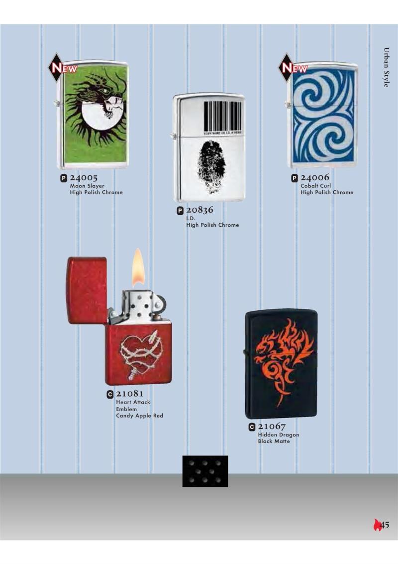 Catalogue ZIPPO 2007 Complete line (version américaine) 4511