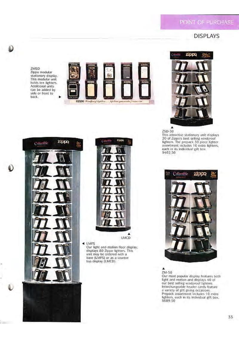 Catalogue ZIPPO Collection 1995 (version américaine) 4610