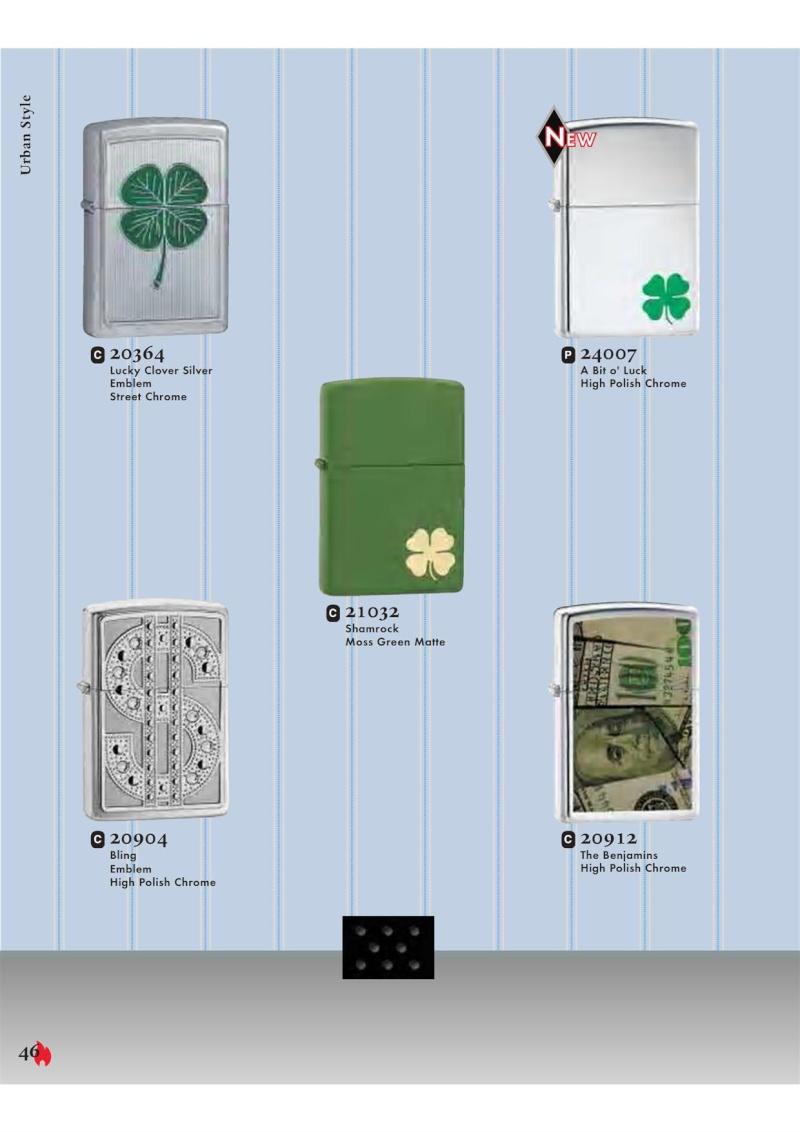 Catalogue ZIPPO 2007 Complete line (version américaine) 4611