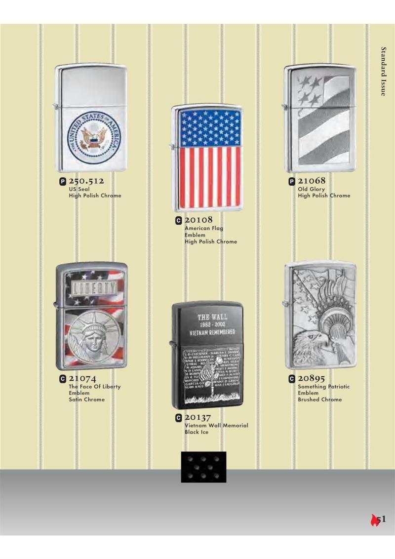 Catalogue ZIPPO 2007 Complete line (version américaine) 5111