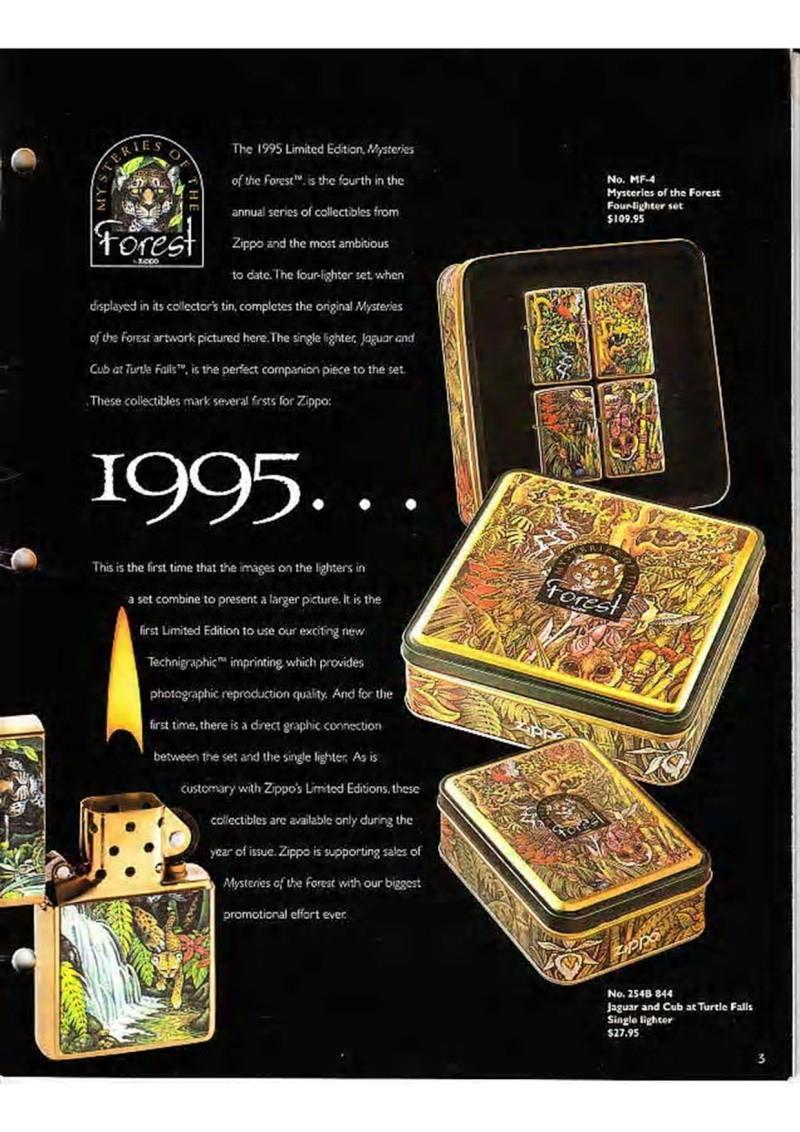 Catalogue ZIPPO Collection 1995 (version américaine) 518