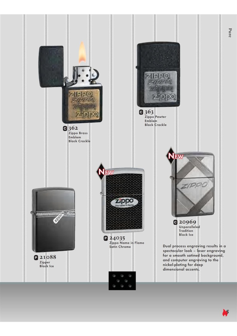 Catalogue ZIPPO 2007 Complete line (version américaine) 520