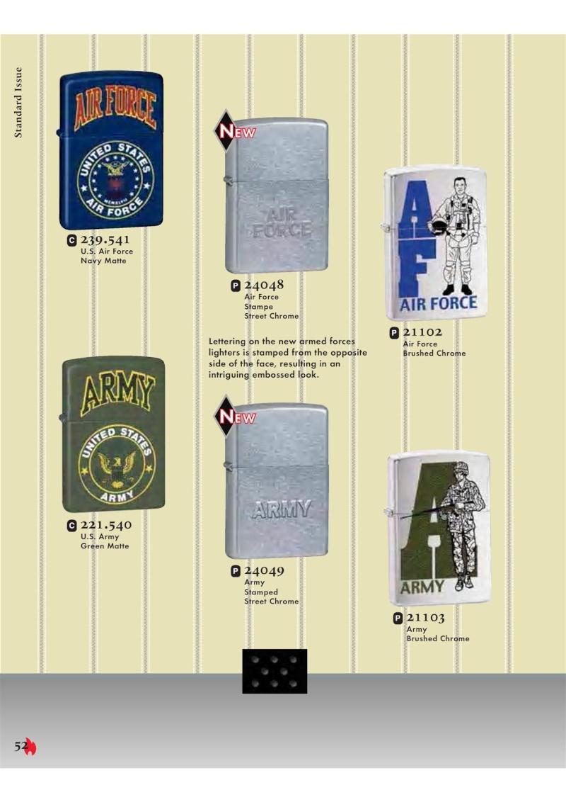 Catalogue ZIPPO 2007 Complete line (version américaine) 5211