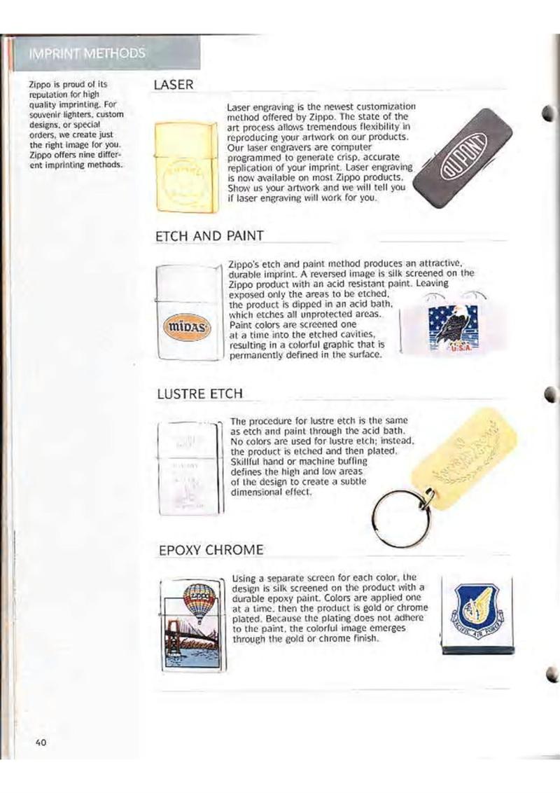 Catalogue ZIPPO Collection 1995 (version américaine) 5310
