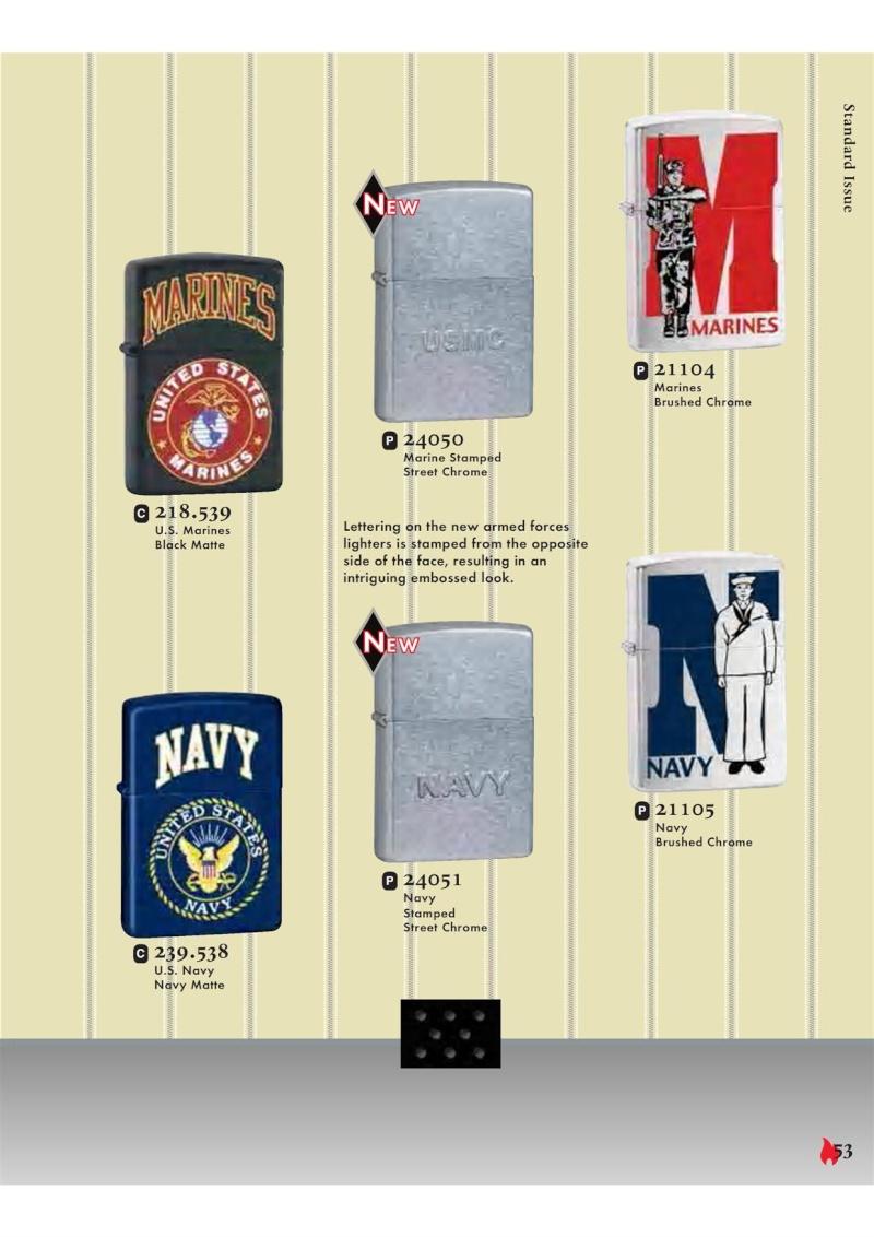 Catalogue ZIPPO 2007 Complete line (version américaine) 5311