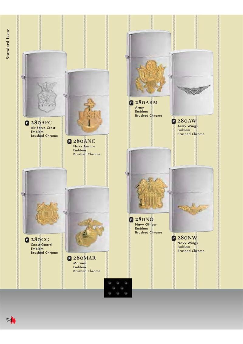 Catalogue ZIPPO 2007 Complete line (version américaine) 5411