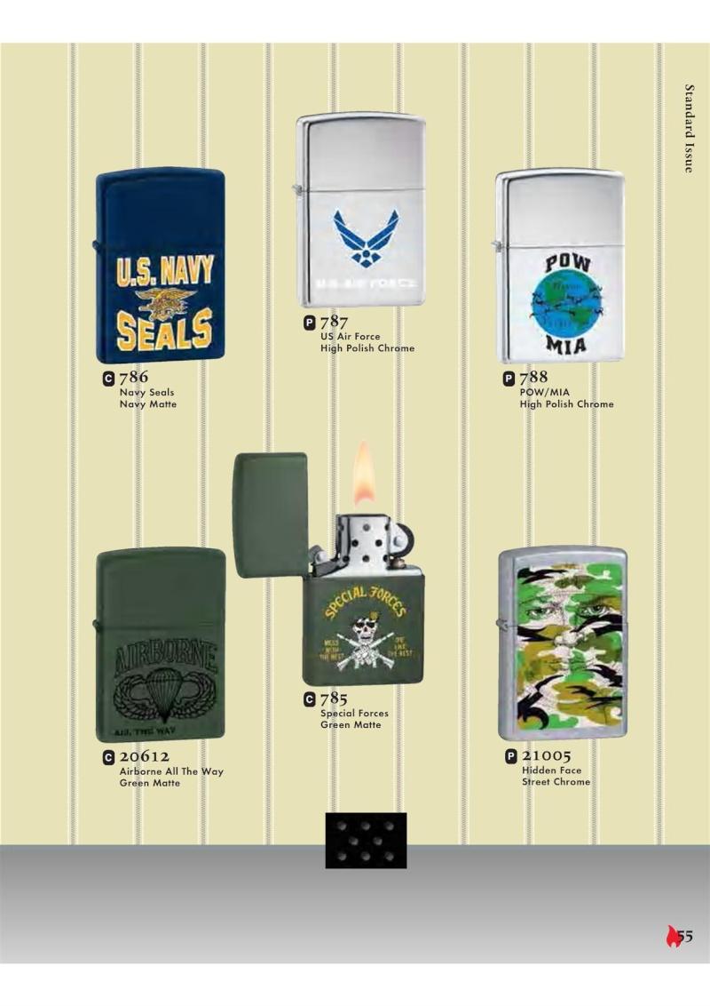 Catalogue ZIPPO 2007 Complete line (version américaine) 5511