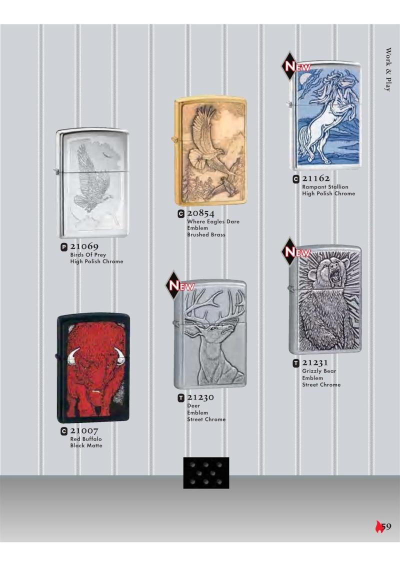 Catalogue ZIPPO 2007 Complete line (version américaine) 5910