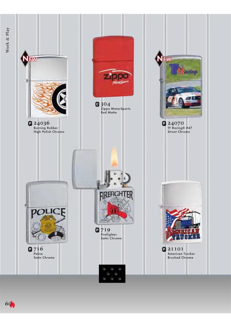 Catalogue ZIPPO 2007 Complete line (version américaine) 6010