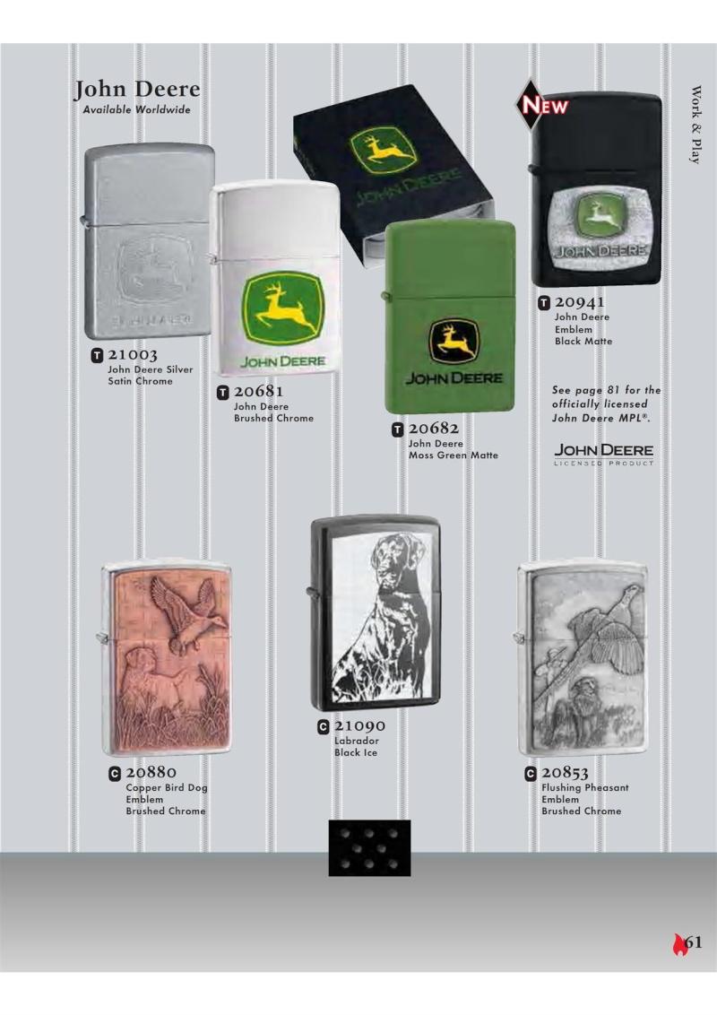 Catalogue ZIPPO 2007 Complete line (version américaine) 6110