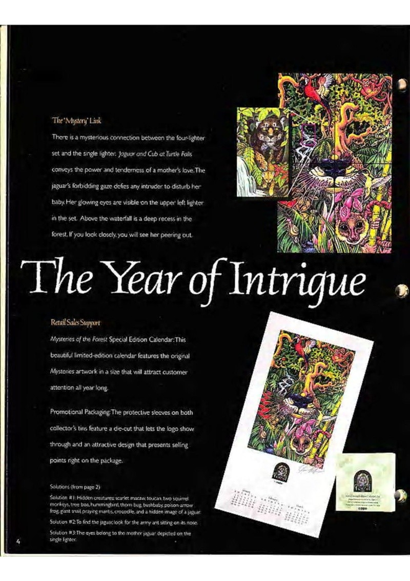 Catalogue ZIPPO Collection 1995 (version américaine) 618