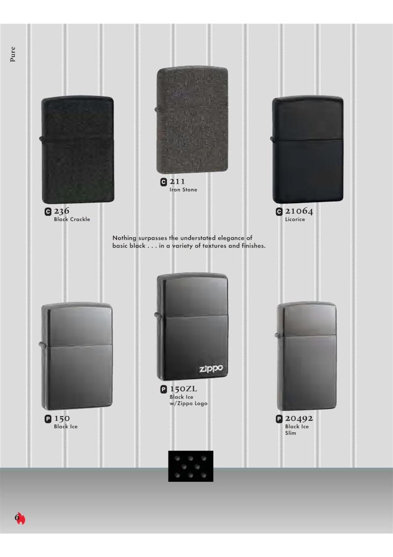 Catalogue ZIPPO 2007 Complete line (version américaine) 620