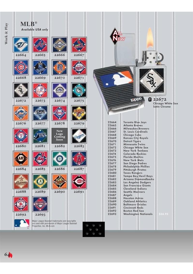 Catalogue ZIPPO 2007 Complete line (version américaine) 6410