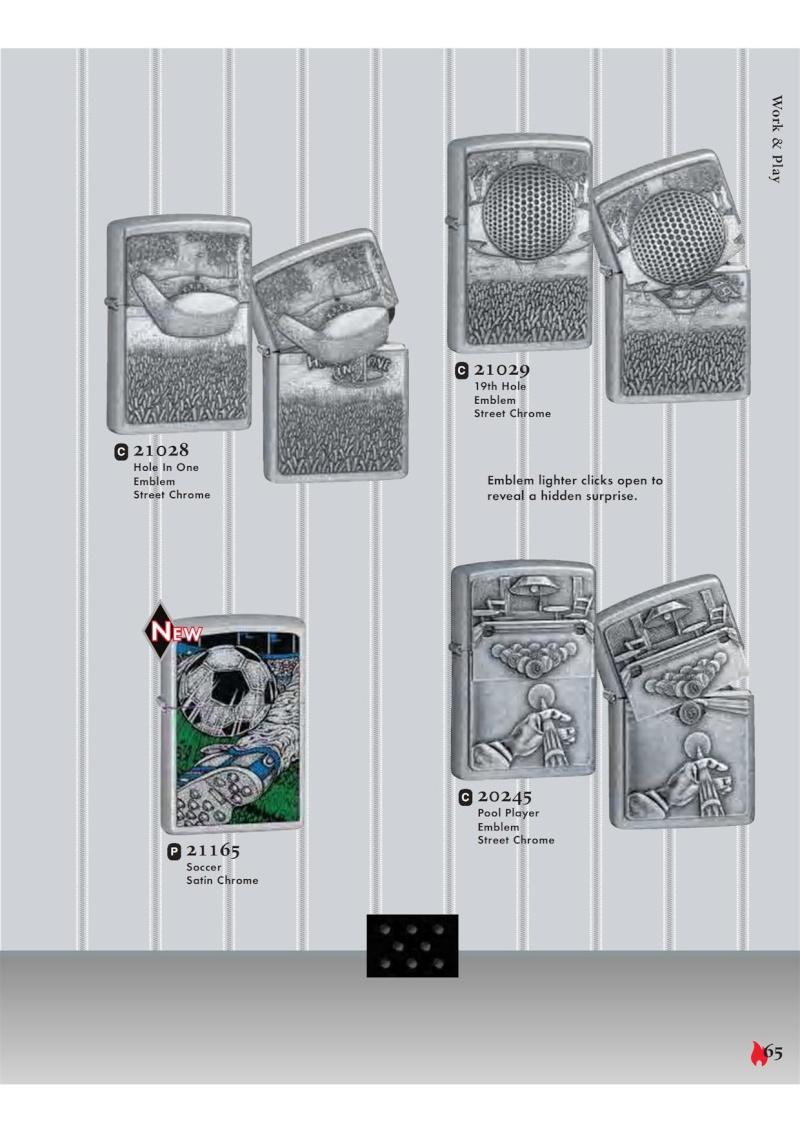 Catalogue ZIPPO 2007 Complete line (version américaine) 6510