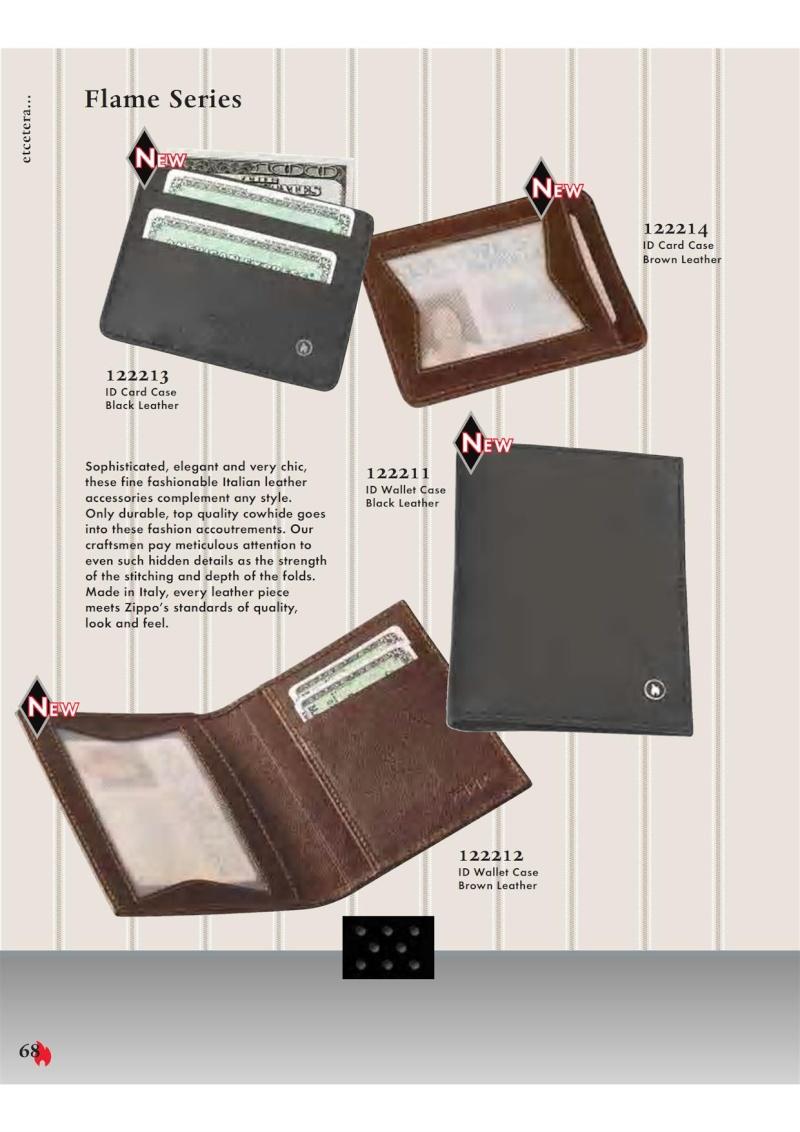 Catalogue ZIPPO 2007 Complete line (version américaine) 6810