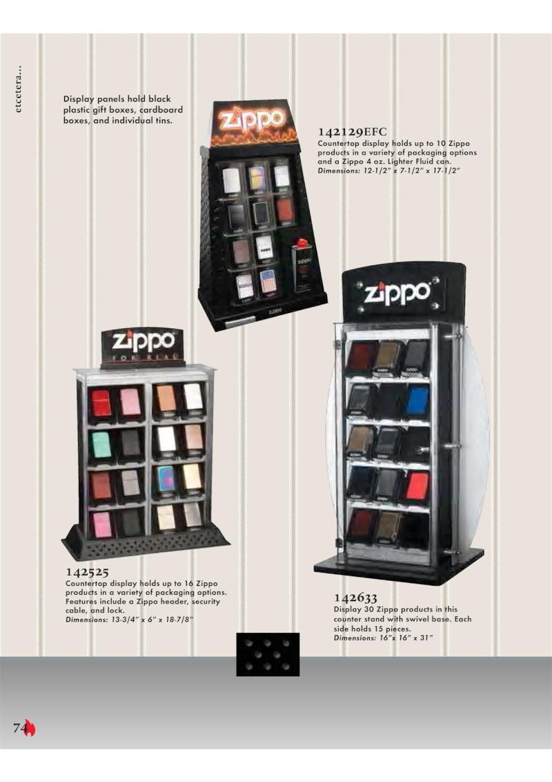 Catalogue ZIPPO 2007 Complete line (version américaine) 7410