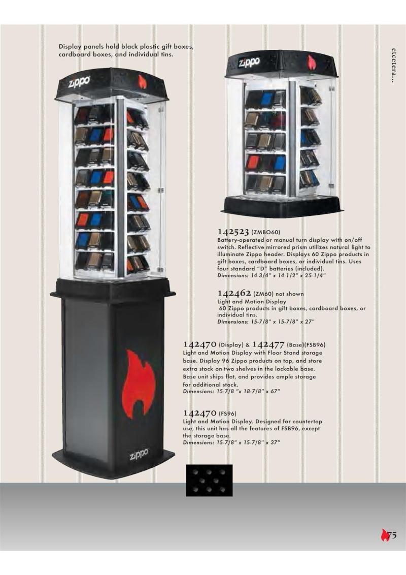 Catalogue ZIPPO 2007 Complete line (version américaine) 7510