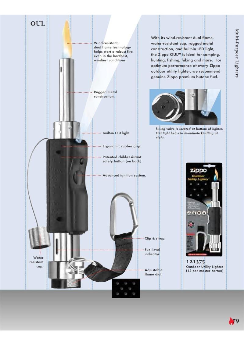 Catalogue ZIPPO 2007 Complete line (version américaine) 7910