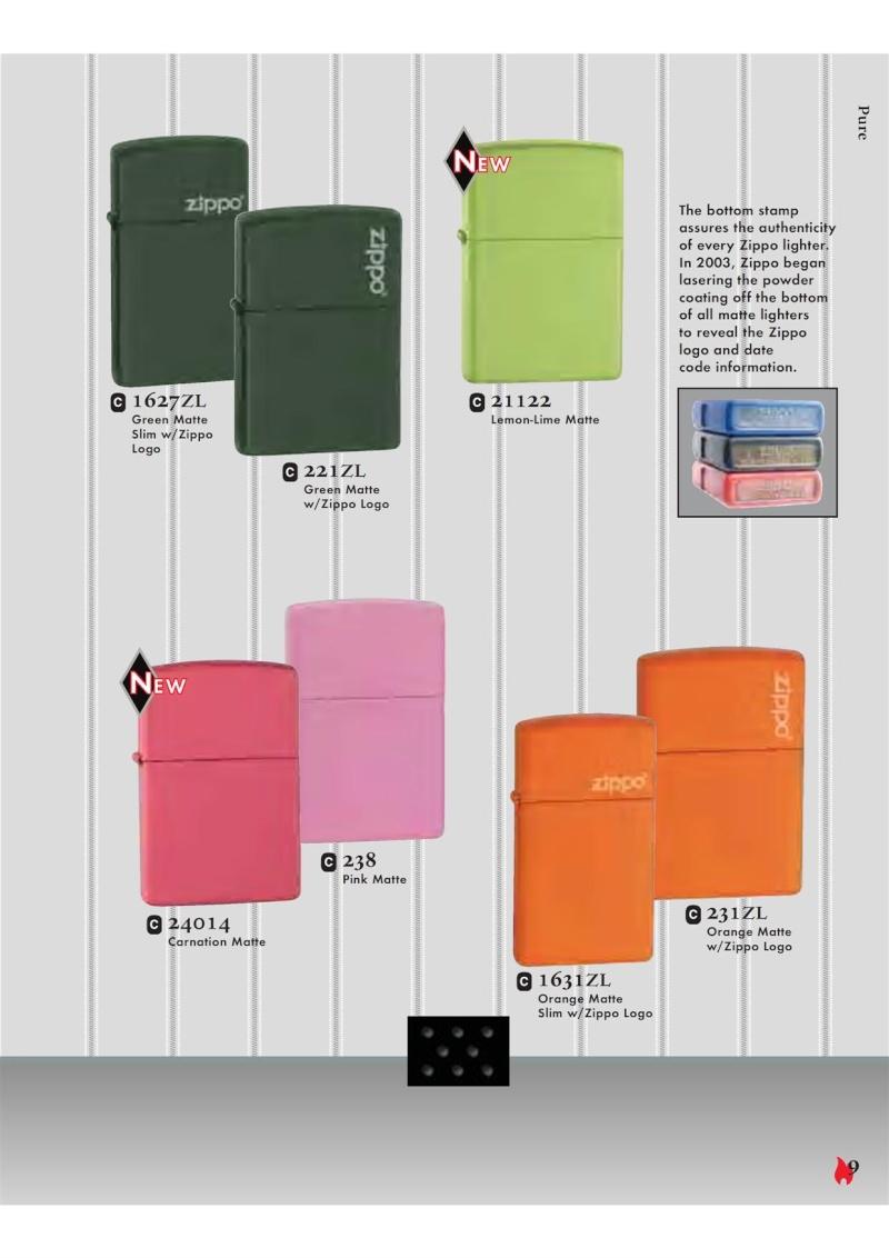 Catalogue ZIPPO 2007 Complete line (version américaine) 918