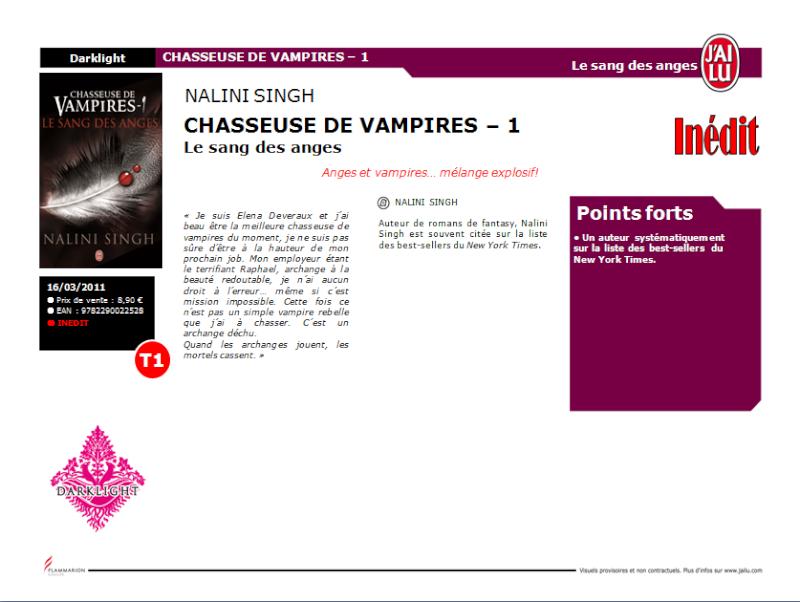 Chasseuse de Vampires - Nalini Singh Chasse10