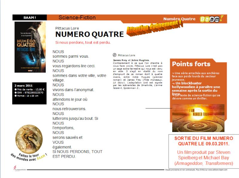Numero Quatre - Pittacus Lore Numero10