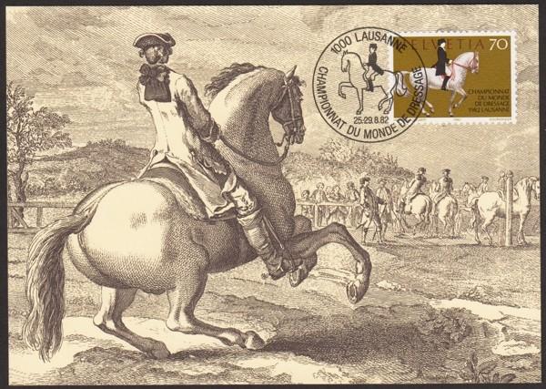 Horses / Pferde (Marken auf Brief oder Karte) 7-25_210