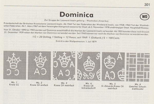 Gefälschte Marken der Dominikanischen Republik ? Domini10
