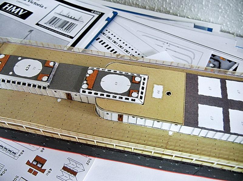 Schnelldampfer Augusta Victoria 1:250 HMV-Verlag - Seite 2 August11