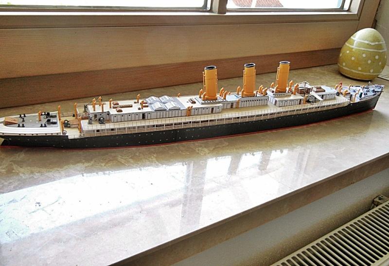 Schnelldampfer Augusta Victoria 1:250 HMV-Verlag - Seite 4 August92