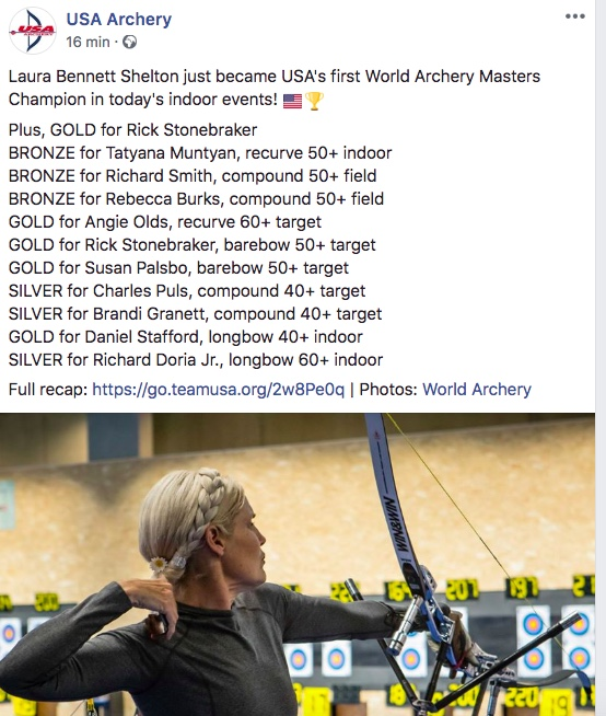 WA Masters Championships (WA Excellence Centre in Lausanne, Switzerland on 14-18 August 2018) Usa10