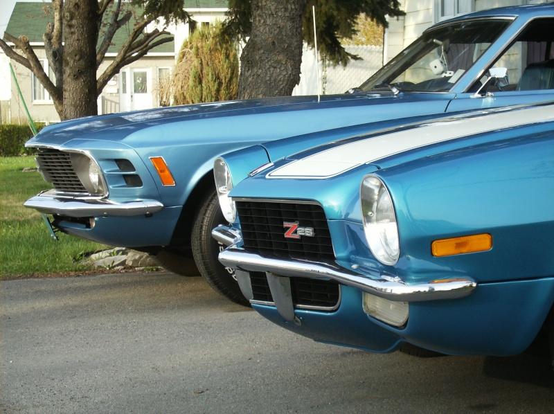Chevrolet Camaro Z28 1971...à vendre!! Mustan10