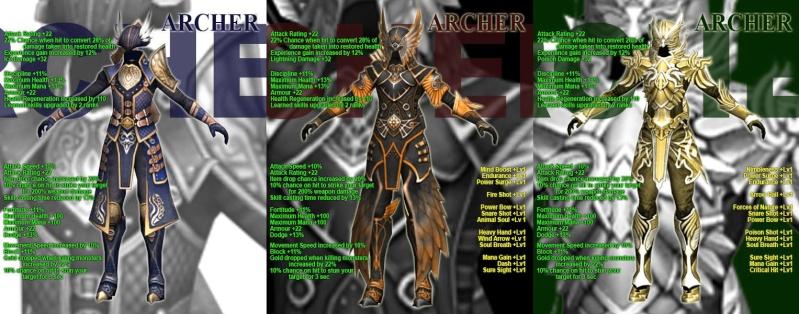 LA LISTA COMPLETA DE LAS NUEVAS ARMOR Archer10
