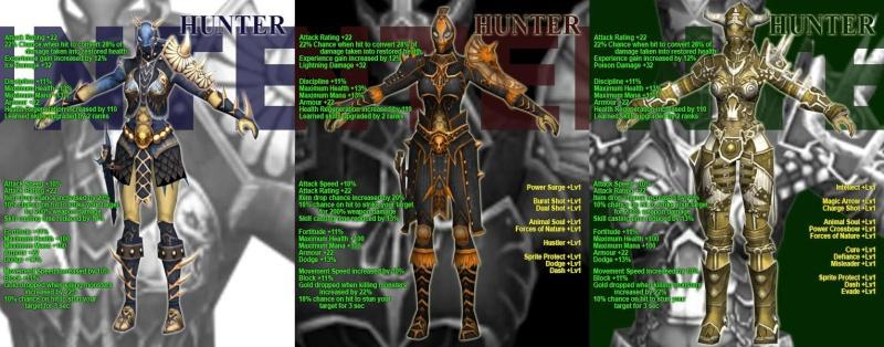 LA LISTA COMPLETA DE LAS NUEVAS ARMOR Hunter10