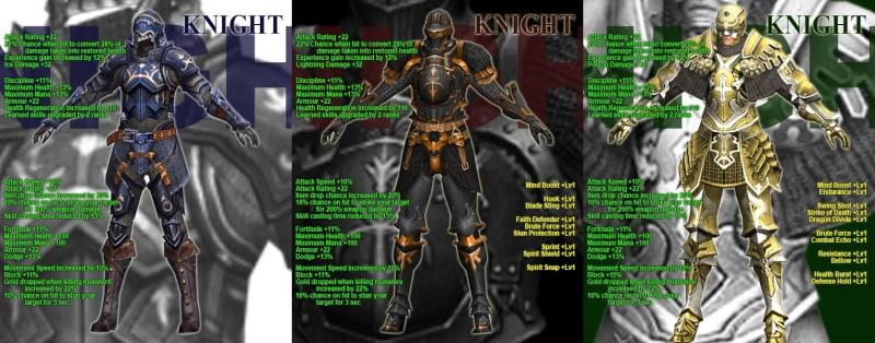 LA LISTA COMPLETA DE LAS NUEVAS ARMOR Knight10