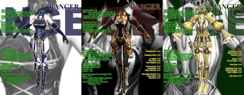 LA LISTA COMPLETA DE LAS NUEVAS ARMOR Ranger10