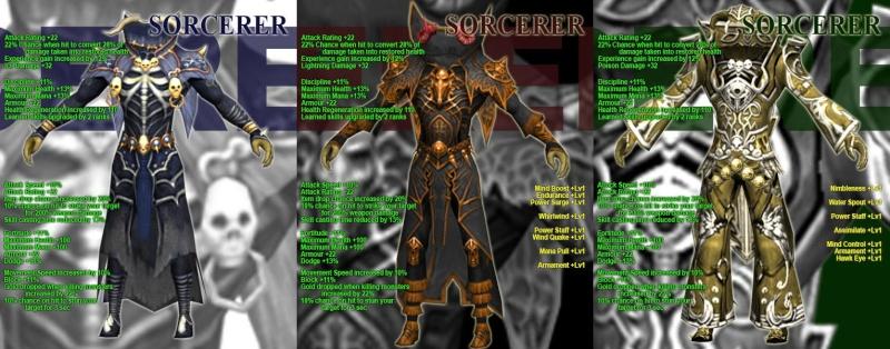 LA LISTA COMPLETA DE LAS NUEVAS ARMOR Sorcer10