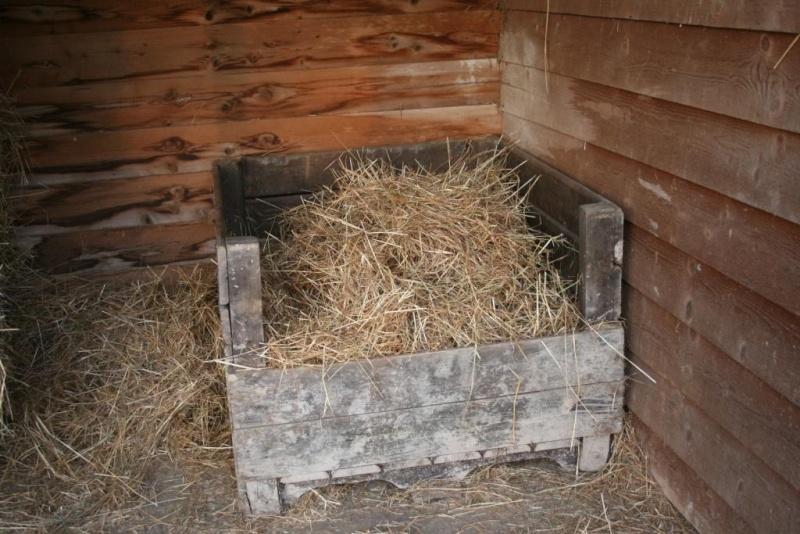 ratelier foin en bois fabrication maison Img_0314