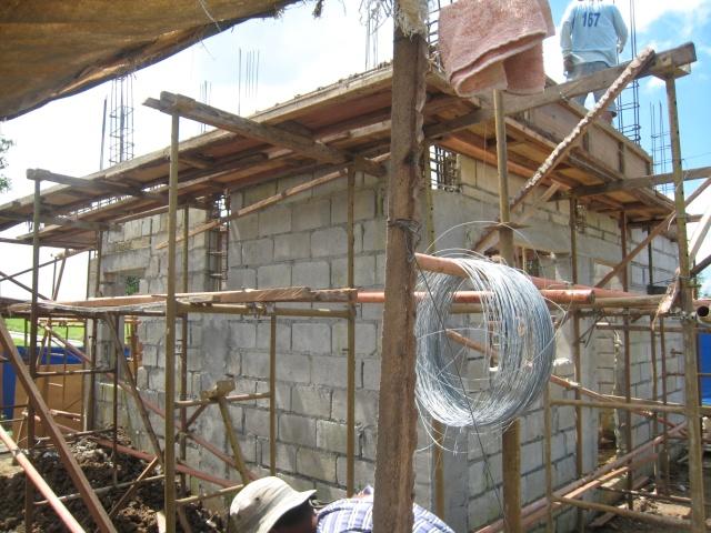 Two Storey Residential House (Metrogate, Trece Martirez City) - On-going Img_4510