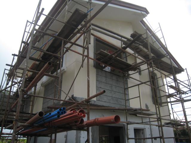 Two Storey Residential House (Metrogate, Trece Martirez City) - On-going Img_5010