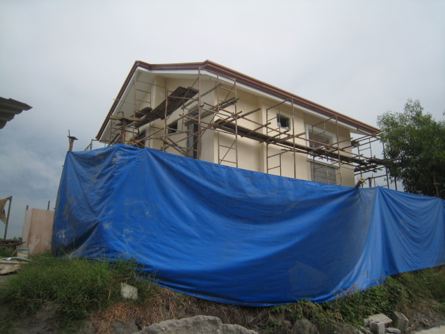 Two Storey Residential House (Metrogate, Trece Martirez City) - On-going Img_5011