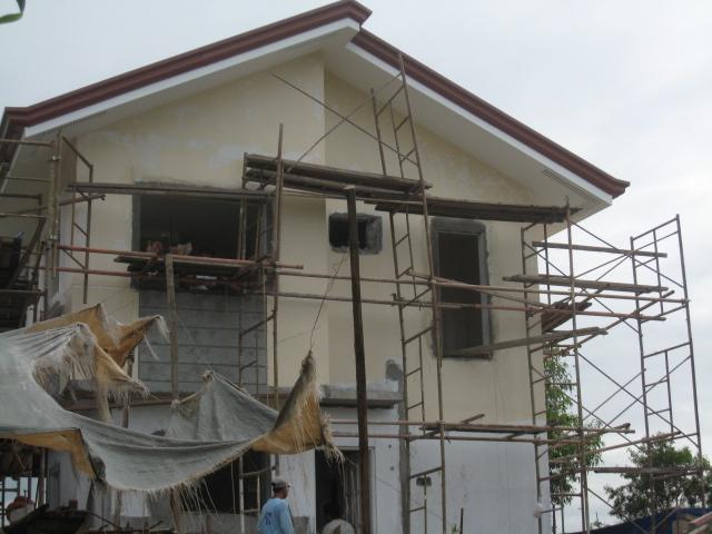 Two Storey Residential House (Metrogate, Trece Martirez City) - On-going Img_5012