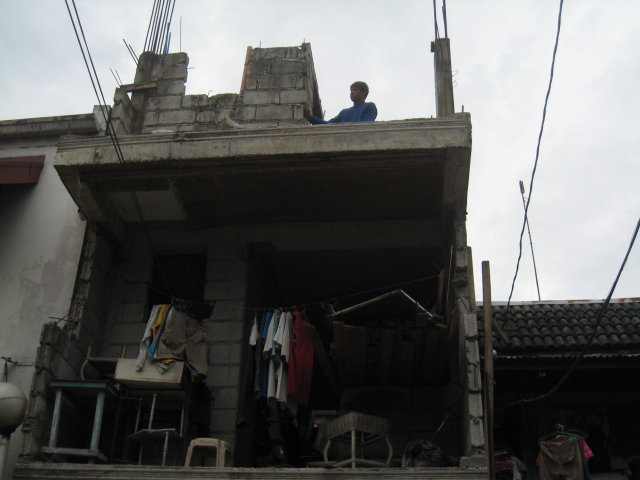 Four Storey Residential Building (Cubao, Quezon City) - On-going Img_5017