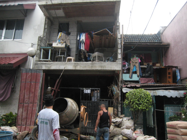Four Storey Residential Building (Cubao, Quezon City) - On-going Img_5018