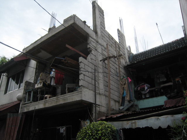 Four Storey Residential Building (Cubao, Quezon City) - On-going Img_5019